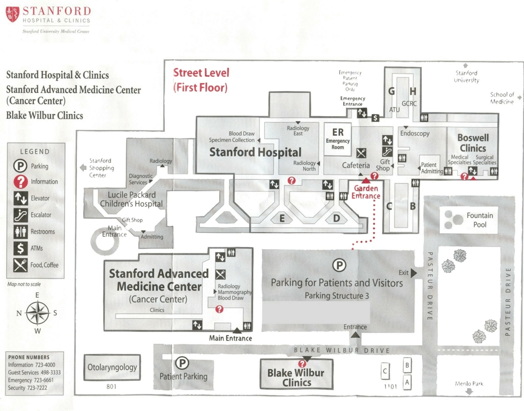 Stanford Hospital Tour